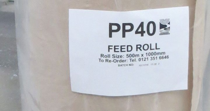 PP40 Five Day Chick Paper Feed Roll