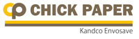 Chick Paper for the Poultry Farming Industry from Kandco Envosave Ltd, West Midlands. Logo