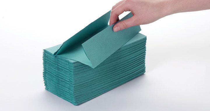 Kandco Envosave Ltd C/Fold Hand Towel - green