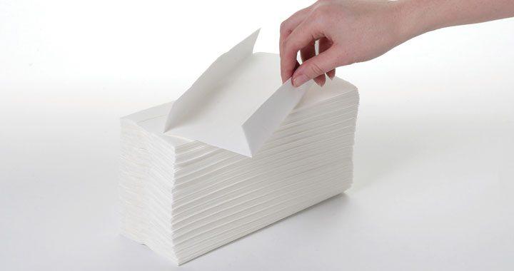 Kandco Envosave Ltd C/Fold Hand Towel - white