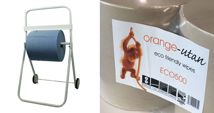 "Kandco Envosave Ltd ""ORANGE-UTAN"" Eco Friendly Wipes Dispenser"